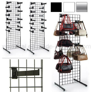 Grid Wall Hooks Wire Mesh Steel Gridwall Panel Stand pictures & photos