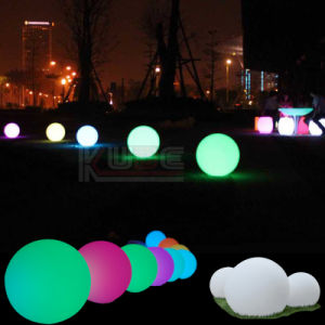 Wedding LED Round Tablel Deco Lights Table Party IR Control pictures & photos