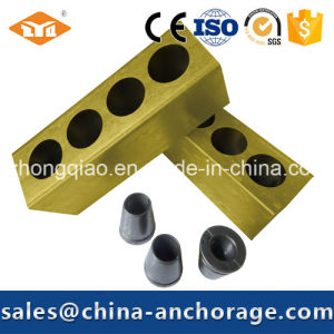5 Holes Flat Anchorage for Prestressed Concrete pictures & photos