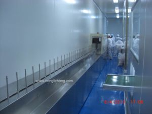 Turnkey Dustfree UV Automatic Plastic Parts Painting Line pictures & photos