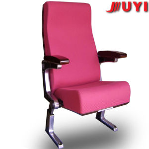 Factory Price Purple Chair Folding Modern Design Fireproof Fabric Theater Auditorium Hall Chair pictures & photos