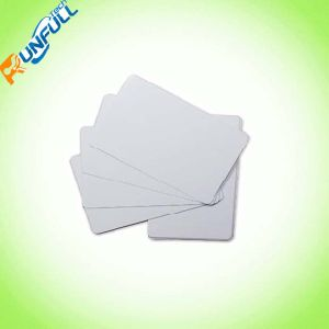 PVC White Blank Card with Lamination on Both Sides pictures & photos