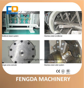 Single Screw Steam Extruder / The Raw Material Extrusion Machine pictures & photos