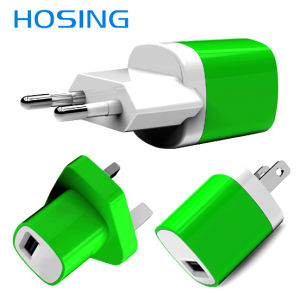Single Port USB Fast Charger Wall Charger for iPhone pictures & photos