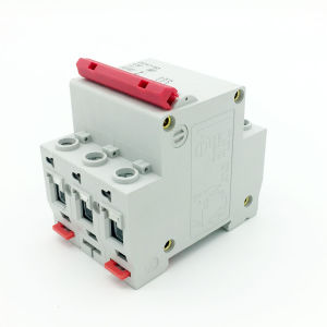 Dz47 Mini Ciciuit Breaker 3p MCB 4.5kv Fireproof pictures & photos
