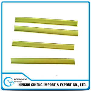Yellow Colored Plastic Double-Core Nose Wire for Surgical Face Mask pictures & photos