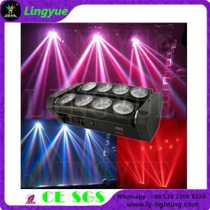 DMX 8PCS10W Spider White LED Moving Head Beam Light pictures & photos