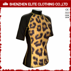 Design Your Own Custom Sublimated Lycra Rash Guard Unti UV (ELTRGJ-270) pictures & photos