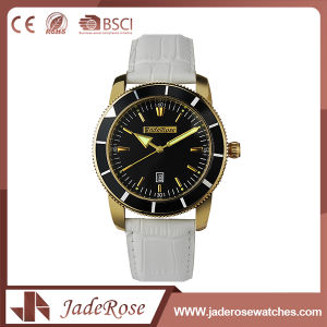 Wholesale Simple Leather Vintage Wrist Watch pictures & photos