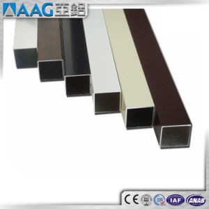 Anodized Black 20um Aluminum Anodized Profile pictures & photos