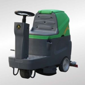Manufacturers Supply Electric Ride on Floor Scrubber Machine (DQX6) pictures & photos