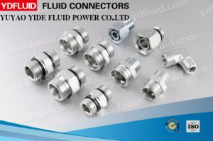 Bsp Thread Hydraulic Fitting with Captive Seal pictures & photos
