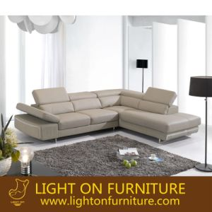 Living Room Leather Sofa for Hotel Project Modern House Furniture (L026) pictures & photos