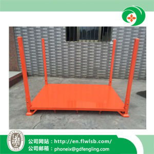 Customized Metal Folding Stacking Frame for Warehouse by Forkfit pictures & photos