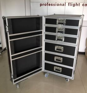 Drawer Flight Case for Tool and Cable Cabinet pictures & photos