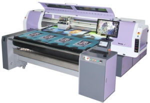 Digital Pigment Printer by Manufacturer in China pictures & photos