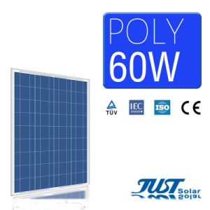 60W Poly Solar Panel with Certification of Ce CQC and TUV