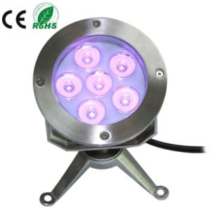 6X3w 316stainless Steel LED Underwater Pond Light, Fountain Light pictures & photos