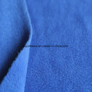 FDY Polar Fleece Fabric Two Sides Brushed and One Antipilling pictures & photos