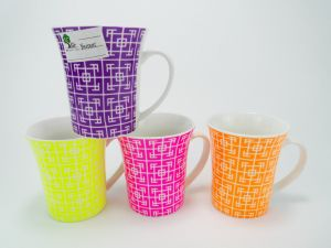 2017 China New Design Shiny Colorful 12oz Ceramic Cup pictures & photos