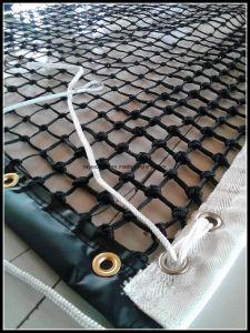 Horizontal Durable Polypropylene Raschel Stair Safety Netting For Children