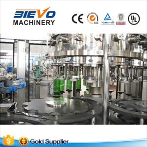 SGS Automatic Glass Bottle Carbonated Beverage Filling Machine for Beer pictures & photos