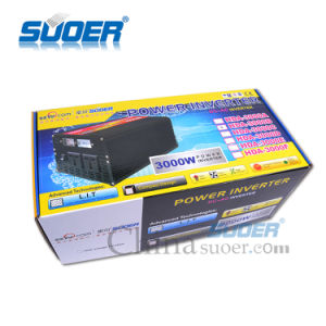 Suoer Manufacture DC 24V AC 220V 3000W Power Inverter (HDA-3000B) pictures & photos