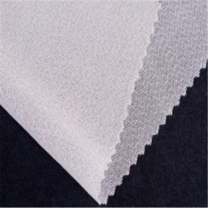 Circular Polyknit Woven Fusible Fabric Interlining for Casual Wear pictures & photos
