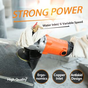 150mm Kynko Variable Speed Water (Wet) Type Angle Grinder (6252) pictures & photos