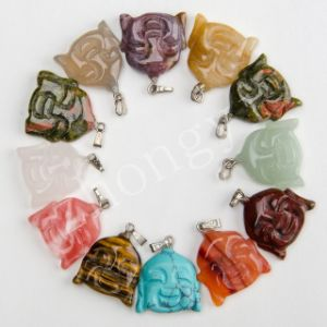 Natural Stone Craved Buddha Charms Pendants Vintage Suspension pictures & photos