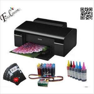 A4 Cheap Printer for Sublimation Printing T50 CD with Tray for CD and ID Card pictures & photos