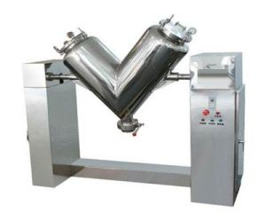V Shape Automatic Small Mixer Mixing Machine pictures & photos