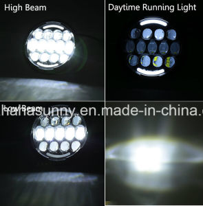 """Pair High Quality 7"""" 78W Hi/Lo Beam LED Headlight for Jeep Wrangler pictures & photos"""