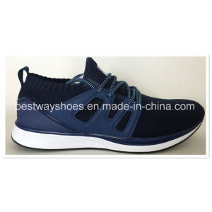 Running Shoes Mesh Fabric Basketball Shoes Shoes Sneaker Sports Shoes Footwear pictures & photos