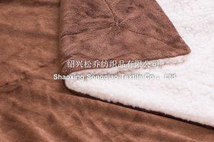 2016 Super-Soft Velour with Shu Velveteen Blanket / Sherpa Fleece Throw pictures & photos