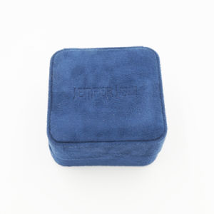 Custom Logo Printed Velvet Gift Jewelry Display Box (J92-CX) pictures & photos