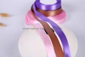 Hot Sale Christmas Festive Decoration Polyester Soft Webbing Silk Ribbon pictures & photos