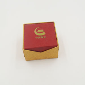 Low Price Customized Cardboard Gift Packing Ring Box (J28-A) pictures & photos