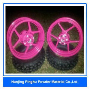Ral 4010 Powder Coating for Motorcycle Wheels pictures & photos