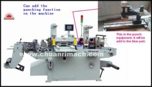 Automatic Self-Adhesive Label, Hot Stamping, Punching, Filming Die Cutting Machine pictures & photos