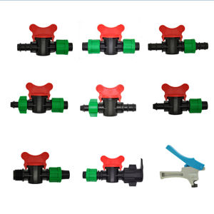 Plastic Mini Valve for Thin-Wall Drip Line or Drip Tape pictures & photos