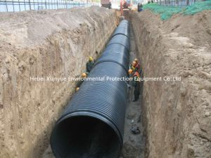 Large Diameter HDPE/PP Structured- Wall Winding Pipe pictures & photos
