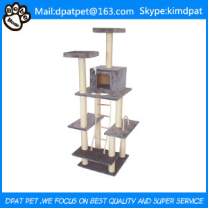 Simple Luxury Indoor Artificial Cat Trees pictures & photos