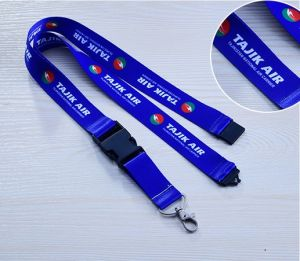 Cheap Polyester Lanyards with Safety Buckles pictures & photos