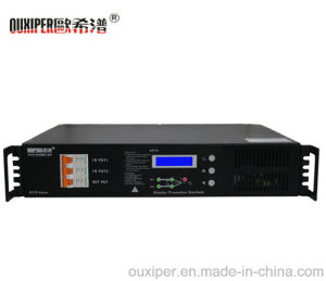 Ouxiper Static Transfer Switch for Power Supply (240VAC 25AMP 6KW 1P Single phase) pictures & photos