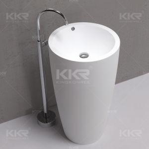 Bathroom Furniture Sanitary Ware Solid Surface Corian Bathroom Basin pictures & photos