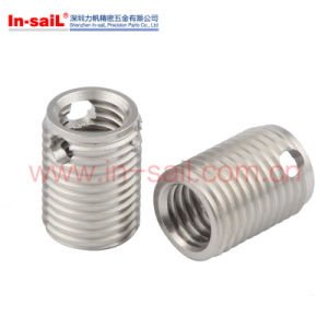 Color Zinc Ensat 302 Slotted Self Tapping Inserts pictures & photos