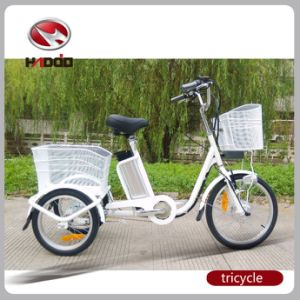 36V 10ah Lithium Battery Assisted Electric Cargo Tricycle pictures & photos