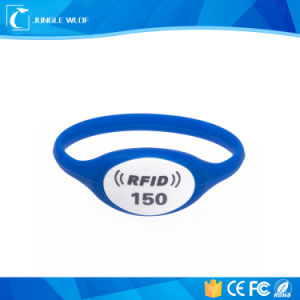 RFID Wristband with Logo and Number Printing pictures & photos