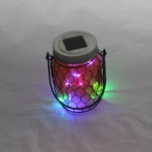 Luxury Multicolor Home Decorative Magic Rechargeable Solar Spot Lights Products pictures & photos